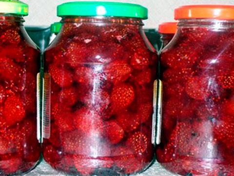 Рецепты из клубники на зиму рецепты